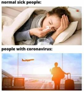 Il Coronavirus e i comportamenti menefreghisti